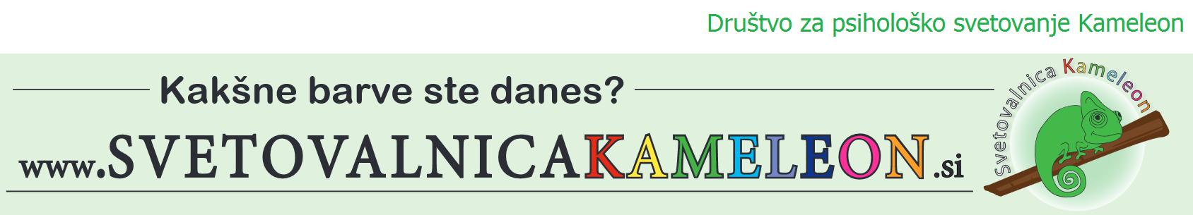 Psihološka svetovalnica Kameleon logo